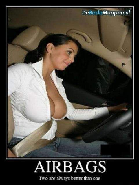 Real good airbags big boobs soft cussion