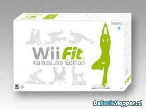 Nintendo Wii Fit Kamasutra Edition